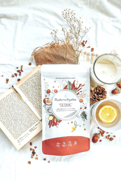 tisane gourmande hiver infusion cocooning